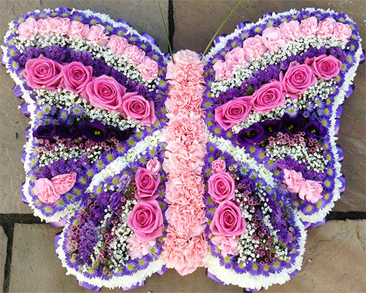 Butterfly Funeral Tribute 1