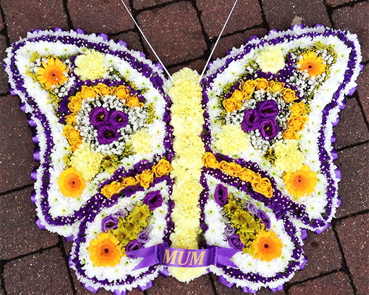 Butterfly Funeral Tribute 3