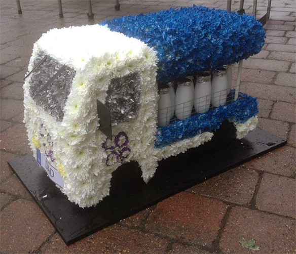 Milk Float Funeral Tribute