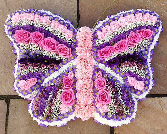 Butterfly Bespoke Flower Design